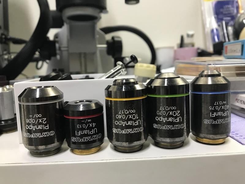 Olympus bx ax 系列 UIS 無窮遠 光學物鏡及目鏡