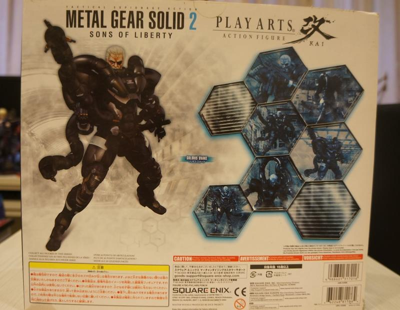 PLAY ARTS改 Metal Gear Solid 2 特攻神諜 潛龍諜影 Solidus Snake