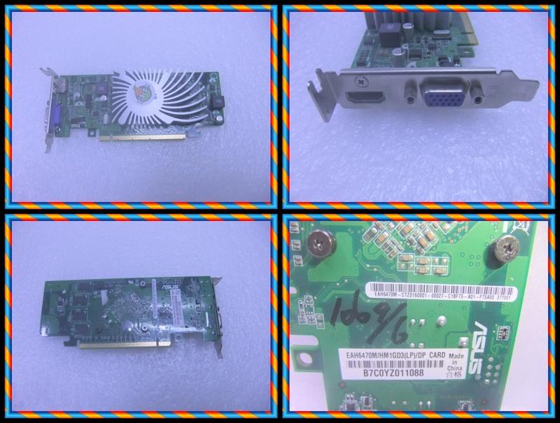 含稅 ASUS 短卡 EAH6470M/HM1GD3 1GB DDR3 64Bit 小江~柑仔店
