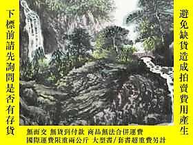 古文物罕見 真跡  石泉 中國國畫家協會理事、中國書法家協會會員、蘭州市書法家協會理事、四尺整張山水畫(138*69CM