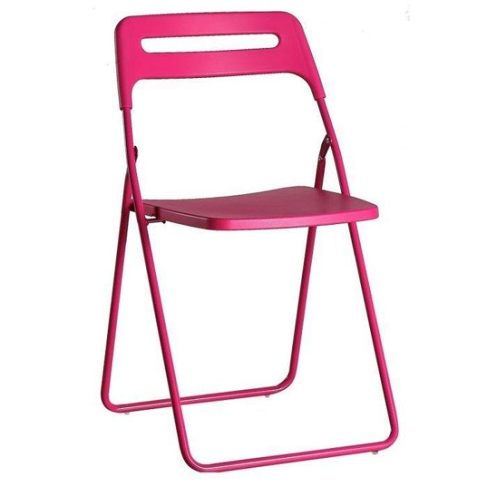 塑料摺疊椅子休閒辦公椅 接待洽談椅 家用餐椅 便攜戶外靠背椅凳