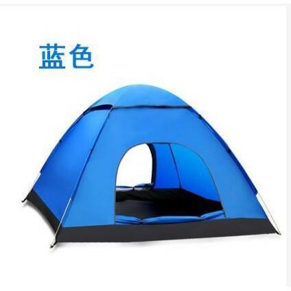 【免運】MGMG 自動3-4人帳篷2秒速開戶外沙灘雙人露營野營防雨春遊LL