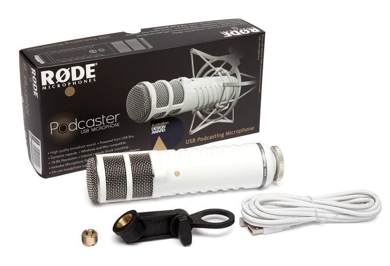 造韻樂器音響- JU-MUSIC - 全新 RODE Podcaster USB 動圈式 麥克風 廣播 直播