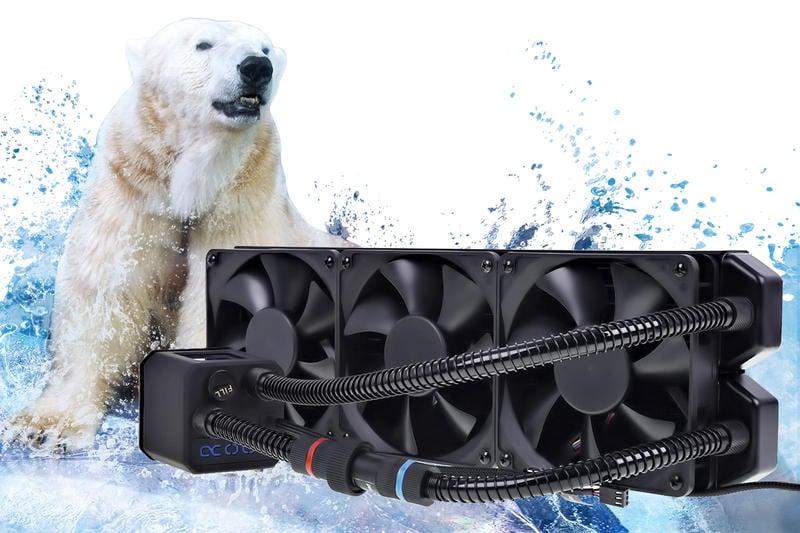 【肯瑞PC特裝】Alphacool EISBAER 360 頂級效能 AIO 開放一體式水冷散器