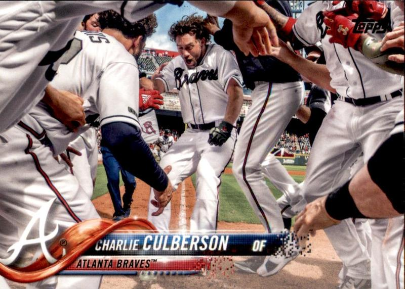 2018 Topps Update #US293 Charlie Culberson 勇士隊