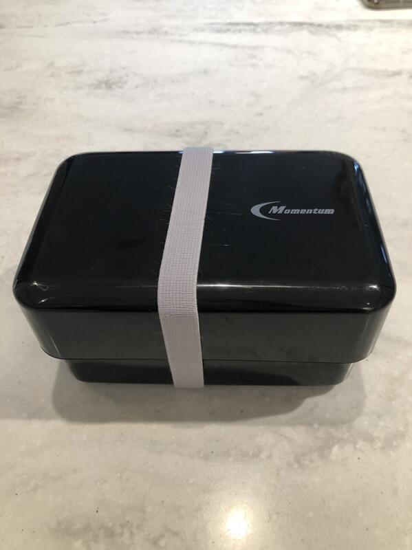 Momentum 摩曼頓 黑色 便當盒 保鮮盒