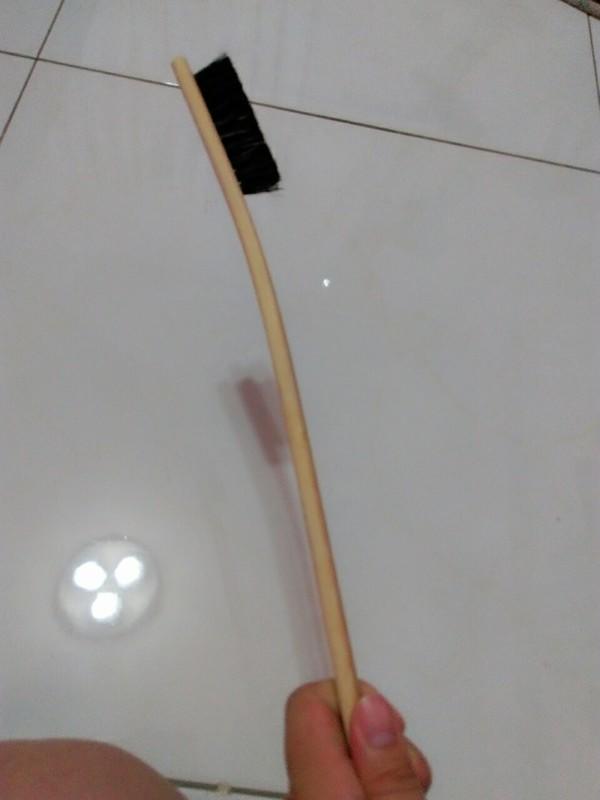 竹刷 鋁圈刷 刷鋁圈超好用 輕鬆不費力 大支 木頭握柄 台灣製造 特價一支$60 衝評價 g58