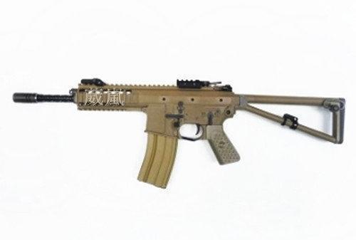 2館 WE PDW L 全金屬 瓦斯槍 沙 (CO2直壓槍BB彈玩具槍模型槍長槍突擊槍衝鋒槍狙擊槍獵槍卡賓槍步槍氣動槍