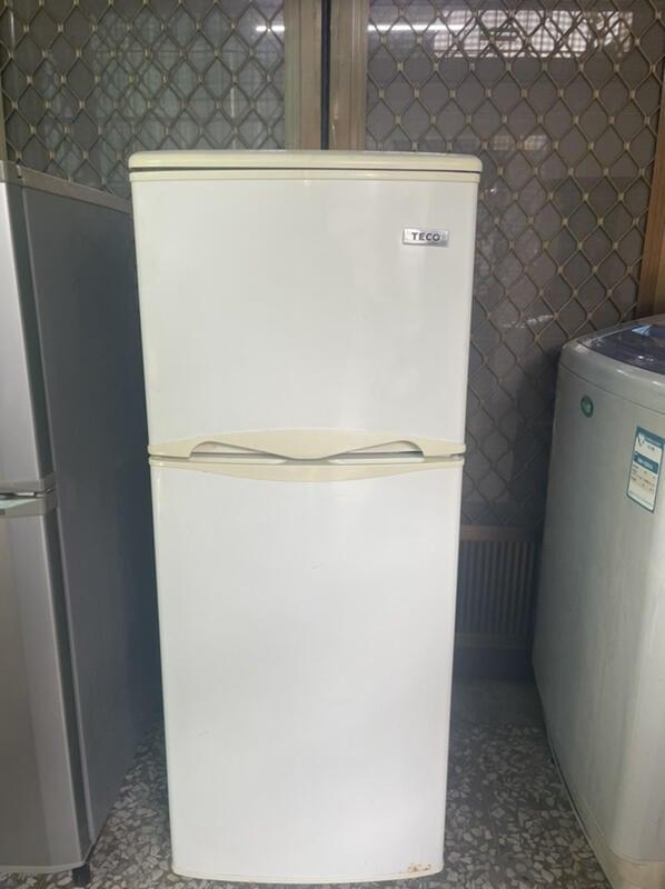 東元雙門電冰箱130L中古電冰箱二手冰箱