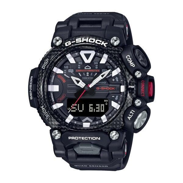 全新 CASIO卡西歐 G-SHOCK系列 藍牙 飛行錶 碳纖維防護 GR-B200-1A 黑 歡迎詢問