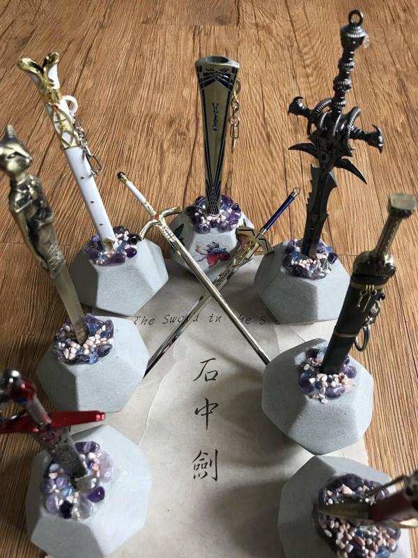 石中劍之北冥劍拆信刀--石中寶劍象徵鎮妖除魔防小人.辦公室必備