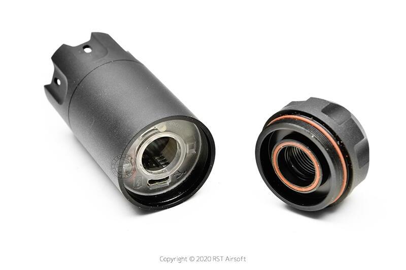 RST 紅星- ACETECH BLASTER 電子噴火豬發光器 台灣製造 模擬火藥閃光效果 黑色 ACE-PAT060