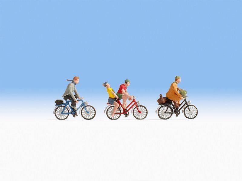 現貨 Noch 15898 HO規 Cyclists 騎腳踏車