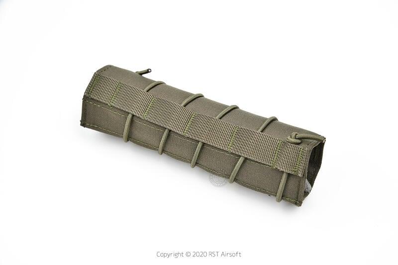 RST 紅星 - 18cm 滅音管保護套 偽裝套 滅音管袋 保護袋 防刮套 綠色 ... 19407
