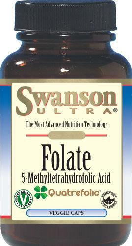 【健康小站】現貨任2瓶免運 Swanson Folate 葉酸 素食膠囊 400mcg/30顆