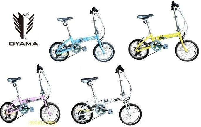 歐亞馬免運費OYAMA神馬16 MINI16吋6段變速鋁合金折疊車小折摺疊車快拆兒童腳踏車兒童自行車小摺16''