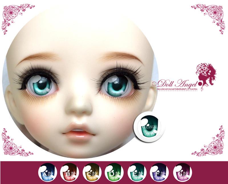 ○Doll Angel●壓克力眼珠【18mm 16mm 14mm 11mm -卡通眼-正常款】@現貨
