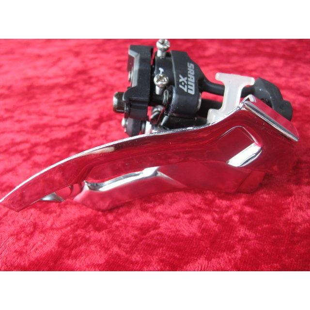 火雞二輪館  SRAM X7 X-7 X.7 34.9mm上下拉通用最大48T專用前變/中變 3×9 27速登山車用