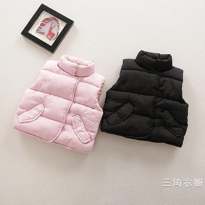 男女寶寶冬裝夾棉小馬甲0一1-2-3歲冬季上衣6-10個月嬰兒衣服童裝