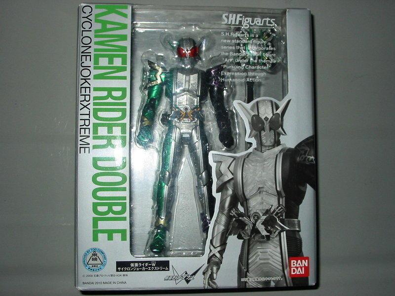 SHF 假面騎士W Xtreme 極限記憶體(已拆)SIC 真骨 鎧武 decade 時王 勝鬨 1號 斬月 永恆 景品