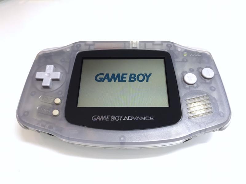【勇者電玩屋】GBA正日版-8成新 GBA 透明藍色款(Gameboy)非換殼機116220