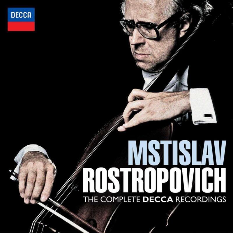 大提琴大師 Rostropovich羅斯托波維契 DECCA 錄音全集 5 CD 正版全新