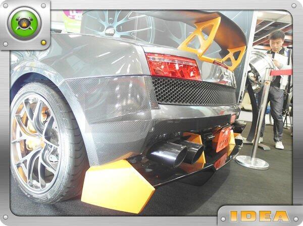 泰山美研社1436 藍寶堅尼 尾翼 Lamborghini / Reventon 國外進口 客製改裝 LP560