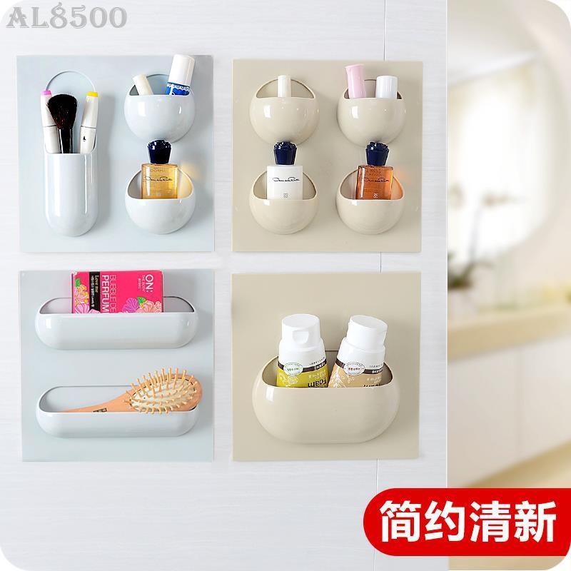 (♥)創意無痕強力粘貼掛式置物架廚房壁掛雜物收納架衛生間浴室整理架