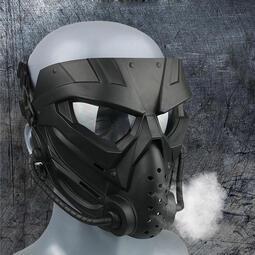 RST紅星 Z3異型全臉式防護面罩/生存遊戲抗彈面罩Alien護臉 黑色 綠色  05117