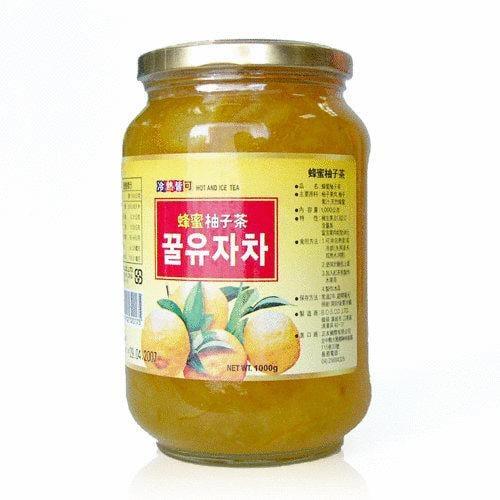 高麗購(Y拍二千賣家)◎正友韓國蜂蜜柚子茶1公斤◎單瓶下標區