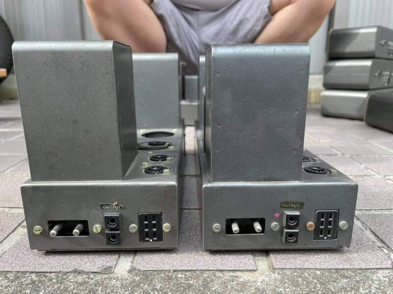 售 英國QUAD II  MONO MONO前後級擴大機 + 收音機