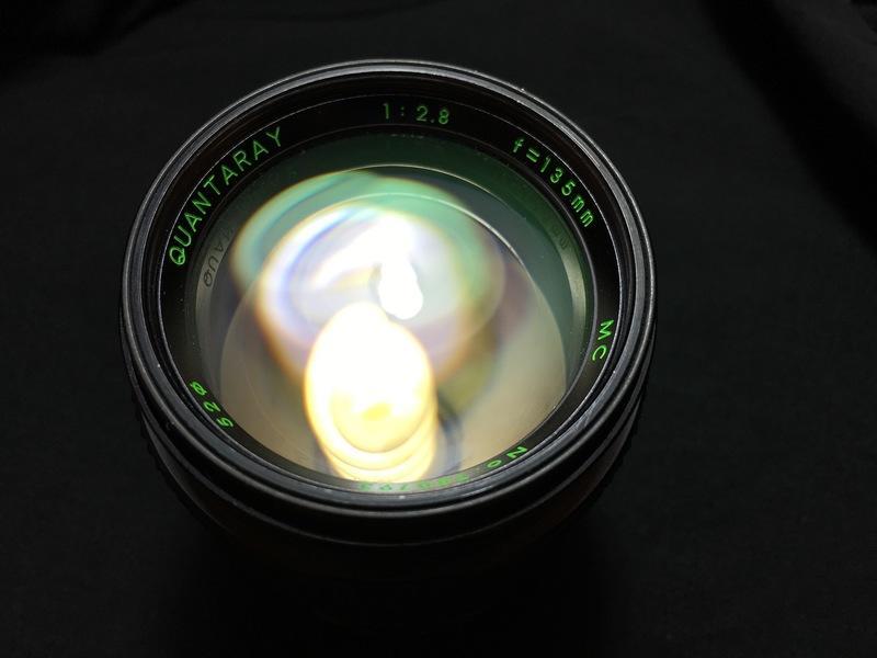 [ VINTAGE ] QUANTARAY SIGMA 135MM F2.8 I 定焦人像鏡I MINOLTA MD接環