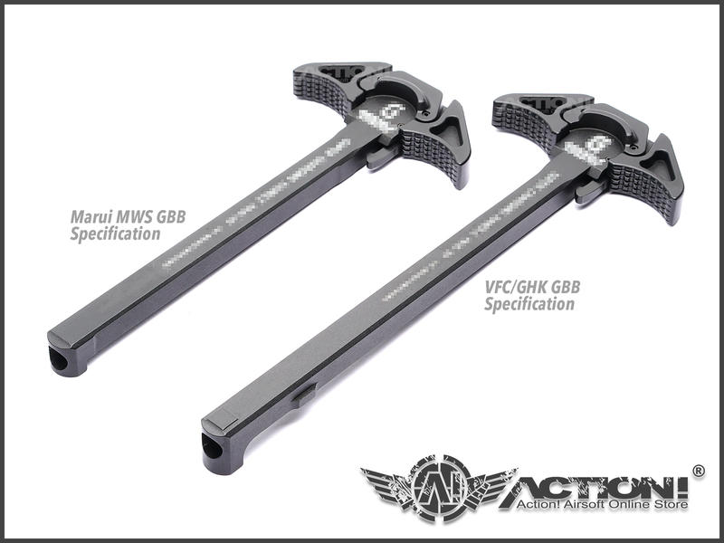 【ACTION!】Z-Parts - G-Style SCH樣式 戰術拉柄 (Marui MWS規格 黑色)《現貨》
