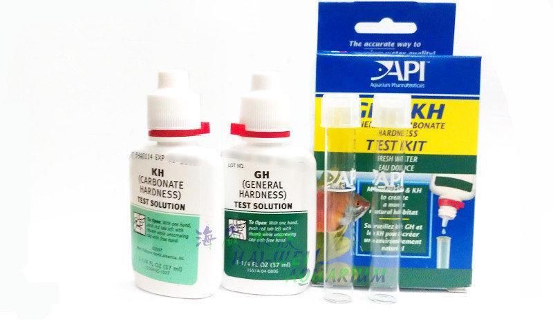 海威水族 ~ 美國 API 魚博士 .總硬度/碳酸鹽 測試劑 GH / KH 測試劑 .