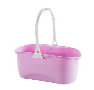 塑料長方形拖把桶加厚大水桶家用儲水塑料桶手提平板拖布桶