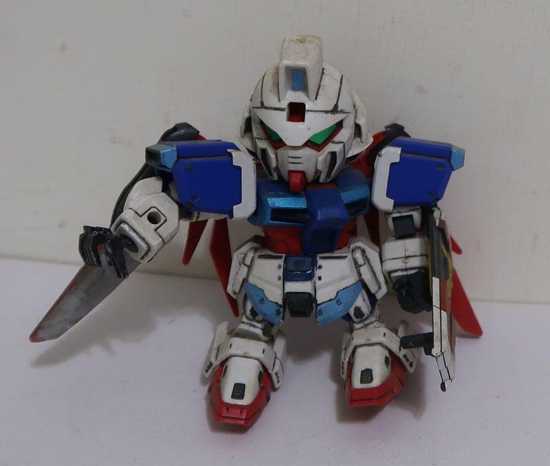 機動戰士 鋼彈機器人(組裝完成品)Q版-D款