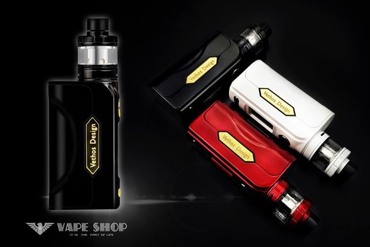 【 沃德維普】日本監製/台灣設計 Vethos Design Alpha XS 套裝 絕非電子 煙 煙油