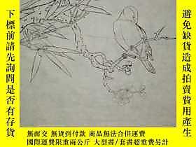 古文物罕見陝西名家樊玉民多年前日課稿白描《花鳥小品4》,出版過20多部連環畫!作品雖然是黑白的卻突出了畫家的功底以及國畫
