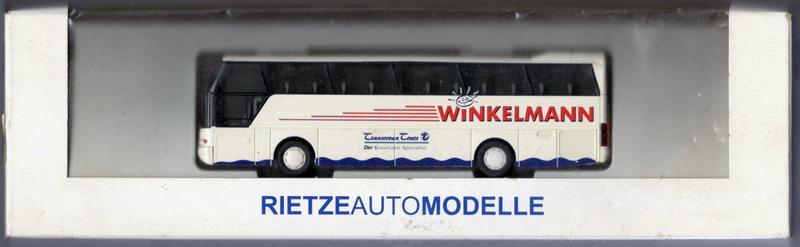 """1:87 Rietze 65005 Neoplan bus """"Winkelmann"""""""