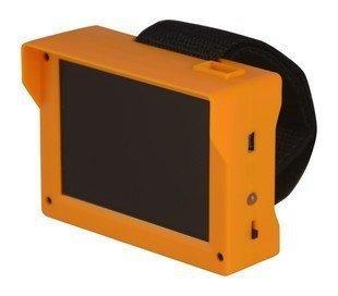 監視監控DVR裝機測試 工程寶 小螢幕.手挽攜帶式 3.5吋LCD液晶螢幕+ 聲音輸出+ AV IN DC12V輸出