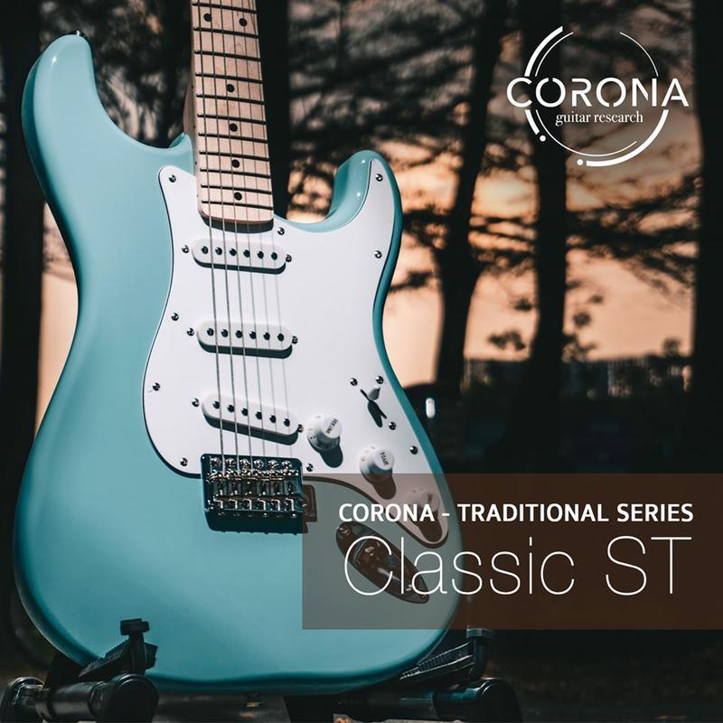 【搖滾玩家樂器】全新 公司貨免運 韓國 CORONA CLASSIC ST S21 F/M DHB 電吉他