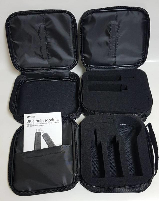 CAROL收納盒 皮套 適用 BTM-210c BTM-210D 210R 藍芽麥克風系列內部有泡棉