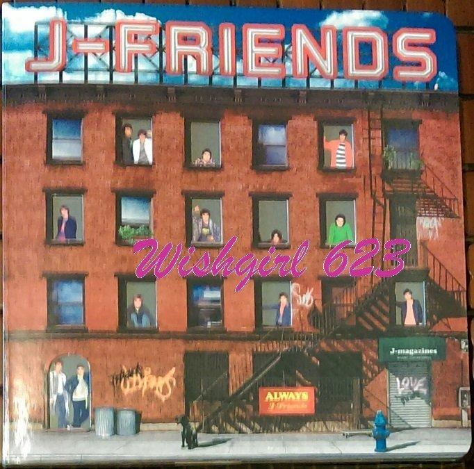 J-Friends傑尼斯『ALWAYS-A Song For Love』日版初回~KinKi Kids、TOKIO、V6