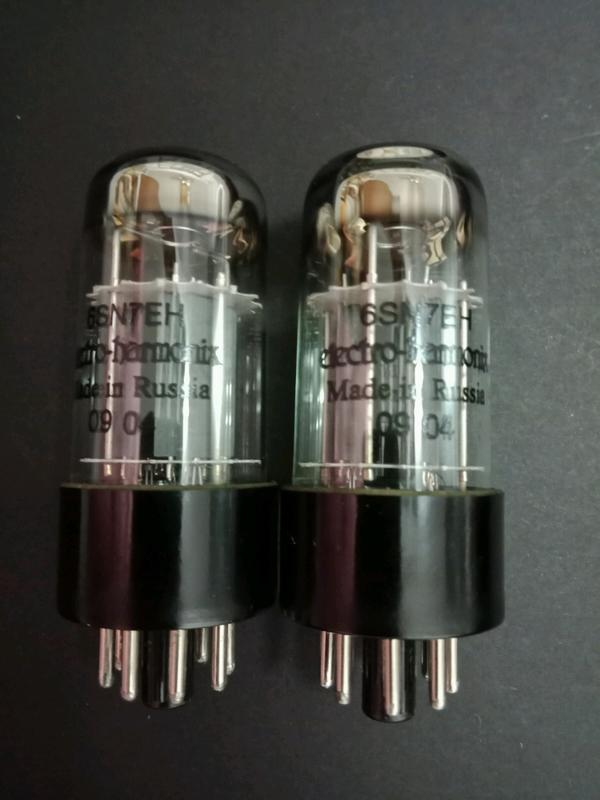 ELECTRO-HARMONIX 6SN7EH (訊號管,一標2支)