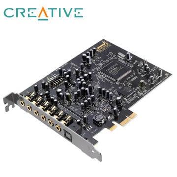 免運含發票~CREATIVE Sound Blaster Audigy Rx 7.1聲道音效卡 PCI-E音效卡