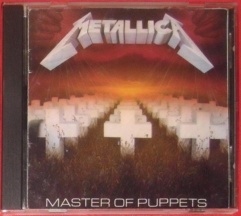 Metallica / Master Of Puppets ('87 首發美版 )