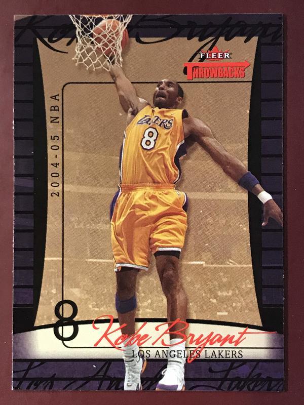 2004-05 Fleer Throwbacks #10 Kobe Bryant 湖人隊
