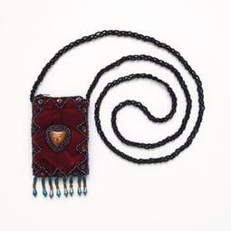 朋友託售 全新未使用 純手工製 尼泊爾 風 吉普賽 風 肩背 小包 珠包