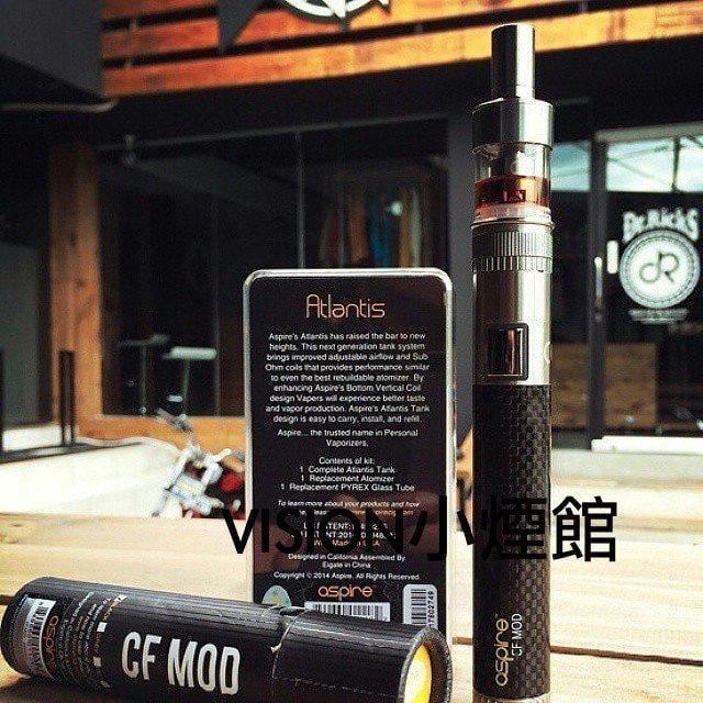 【小煙館】現貨 大煙霧 正品 頂級 Aspire2 CF MOD 亞特蘭提斯 贈果汁1個隨機 霧化器套裝 非電子 煙 菸
