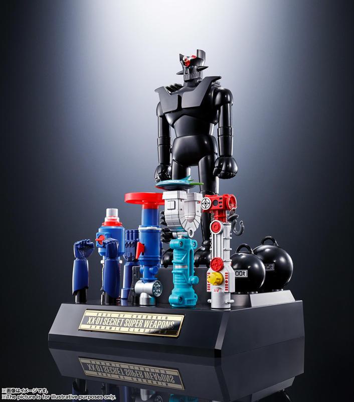[TK]預約 日版 4月 超合金魂 GX-XX01 無敵鐵金剛Z D.C. 系列對應 XX計劃 秘密超兵器組